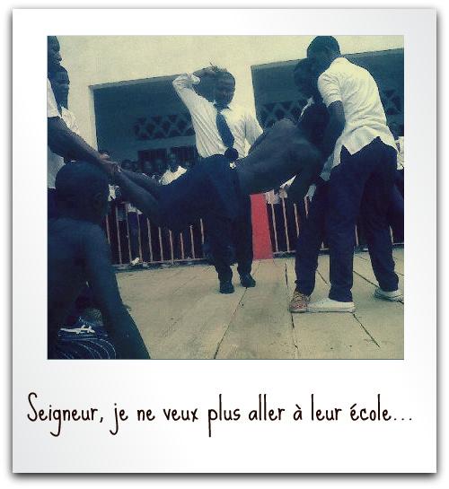 """Dans un lycée camerounais - """"Seigneur, je ne veux plus aller à leur école. Faites, je vous en prie, que je n'y aille plus !"""""""