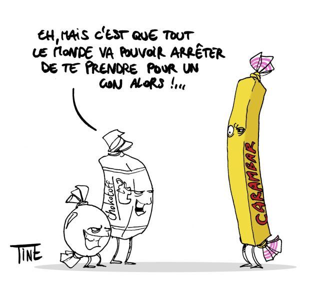 """Un dessin de Tine O' Dine – Du même auteur : """"Correction automatique"""""""