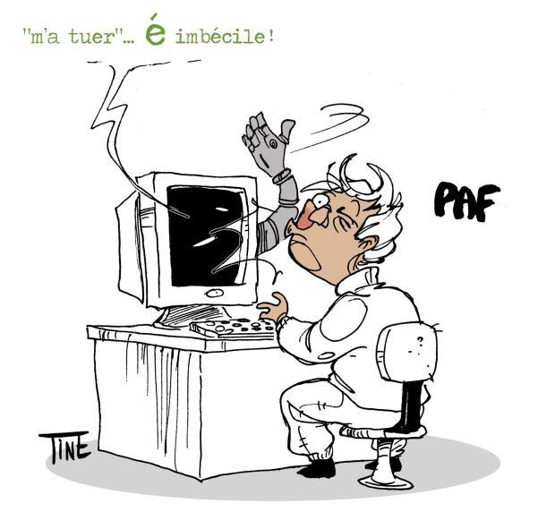 """Un dessin de Tine O' Dine - A lire aussi : """"Nombre de Fautes, Nombre de Coups"""""""