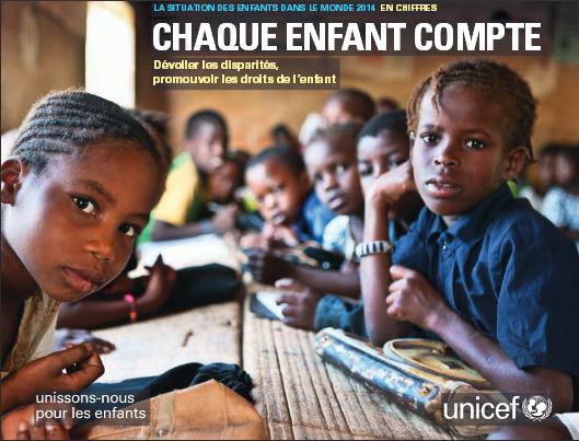 esukudu rapport unicef chaque enfant compte 2014