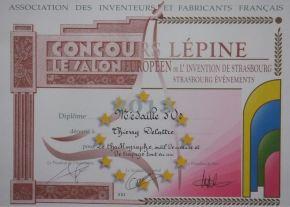 esukudu_Lépine_Thierry Delattre_Diplôme Médaille d'Or_LD