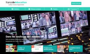 La nouvelle plateforme de Francetv Education - Source : France Télévisions