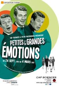"""Affiche de l'exposition """"La Fabrique des Émotions"""""""