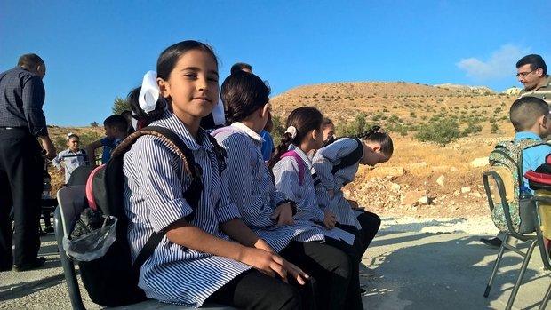 esukudu-cisjordanie-israel-rentree-demoli-ecole-enfants-palestiniens-palestine